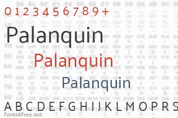 Palanquin Font