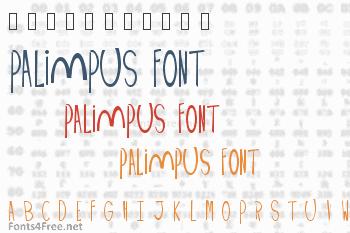 Palimpus Font