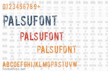 Palsu Font