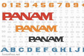 PanAm Font