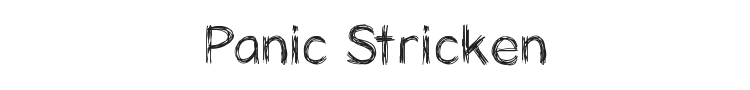 Panic Stricken Font