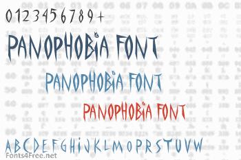Panophobia Font