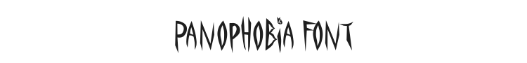 Panophobia Font Preview