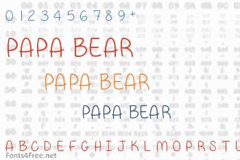 Papa Bear Font