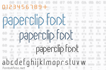 Paperclip Font