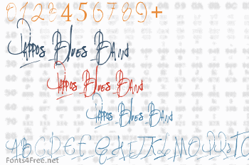 Pappos Blues Band Font