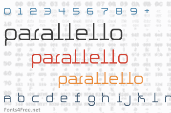 Parallello Font