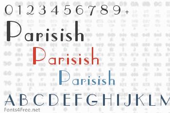 Parisish Font