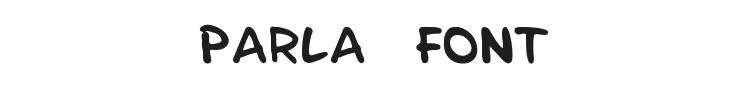 Parla Font Preview
