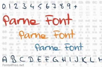 Parne Font