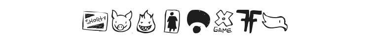 Parody Logoskate Font Preview