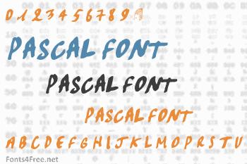 Pascal Font