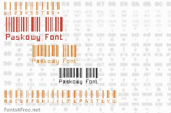 Paskowy Font