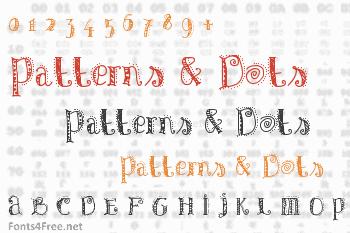 Patterns & Dots Font