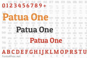 Patua One Font