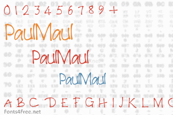 PaulMaul Font