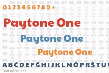 Paytone One Font