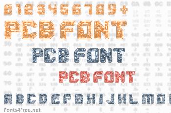 PCB Font