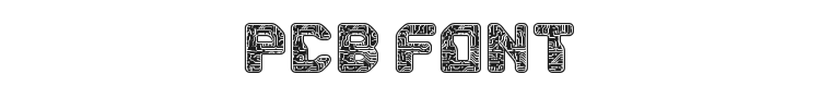 PCB Font Preview
