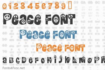 Peace Font