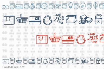 Peax Drawn Icons Font
