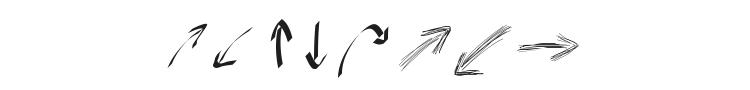 Peax Webdesign Arrows Font Preview
