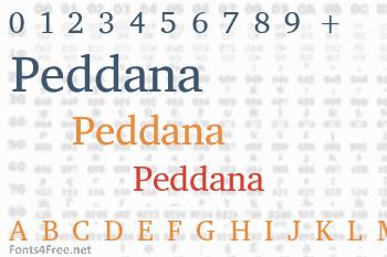 Peddana Font
