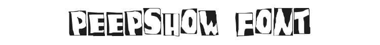 PeepShow Font Preview