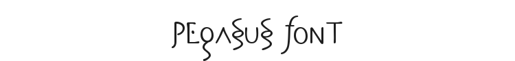 Pegasus Font