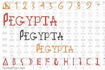 Pegypta Font