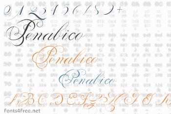 Penabico Font
