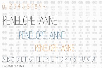 Penelope Anne Font