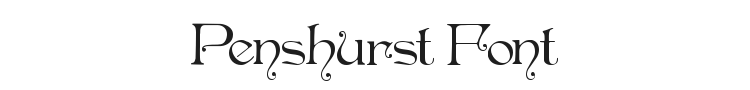 Penshurst Font Preview