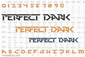 Perfect Dark Font