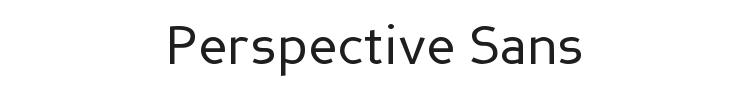 Perspective Sans Font