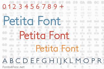 Petita Font