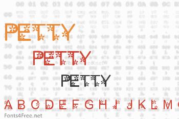 Petty1.0 Font