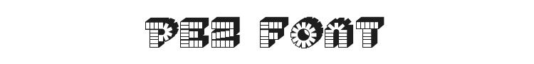 Pez Font Preview