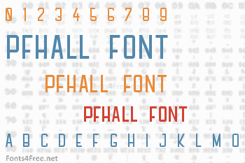 PFHall Font