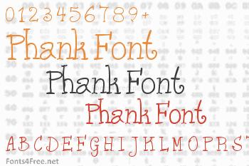 Phank Font