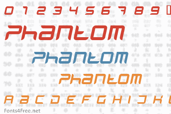 Phantom Font