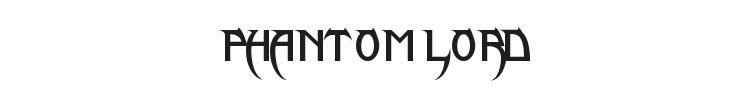 Phantom Lord Lite Font Preview