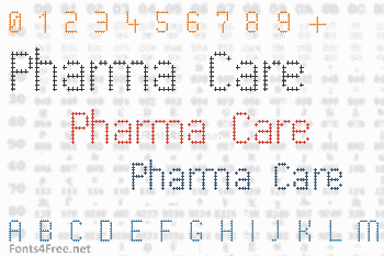 Pharma Care Font