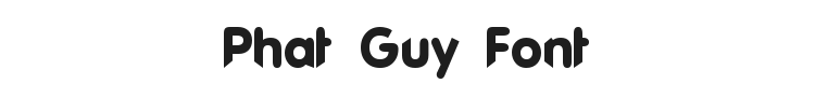 Phat Guy Font Preview