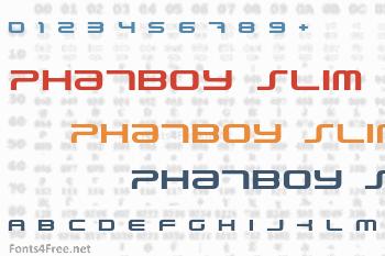 PhatBoy Slim Font