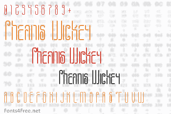 Pheanis Wickey Font