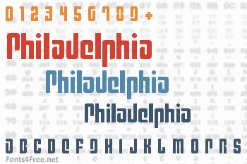 Philadelphia Font
