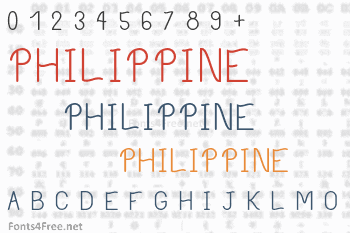 Philippine Font
