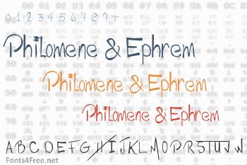 Philomene & Ephrem Font
