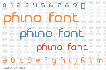 Phino Font